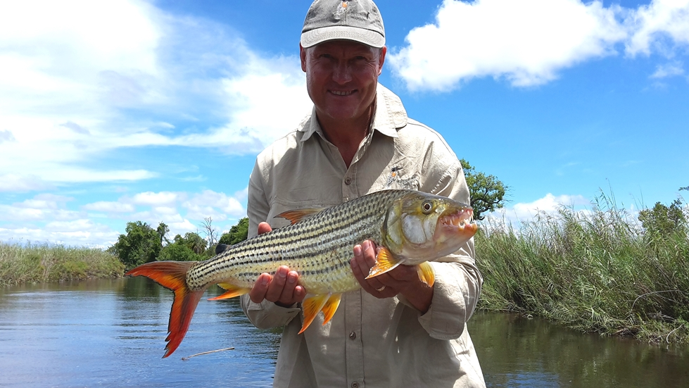gavin johnson tiger fish angola