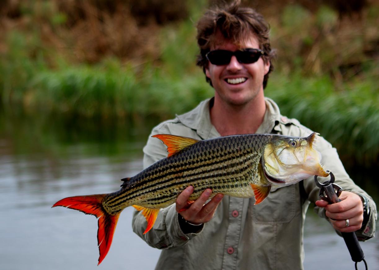 james williams kwando river tiger fish